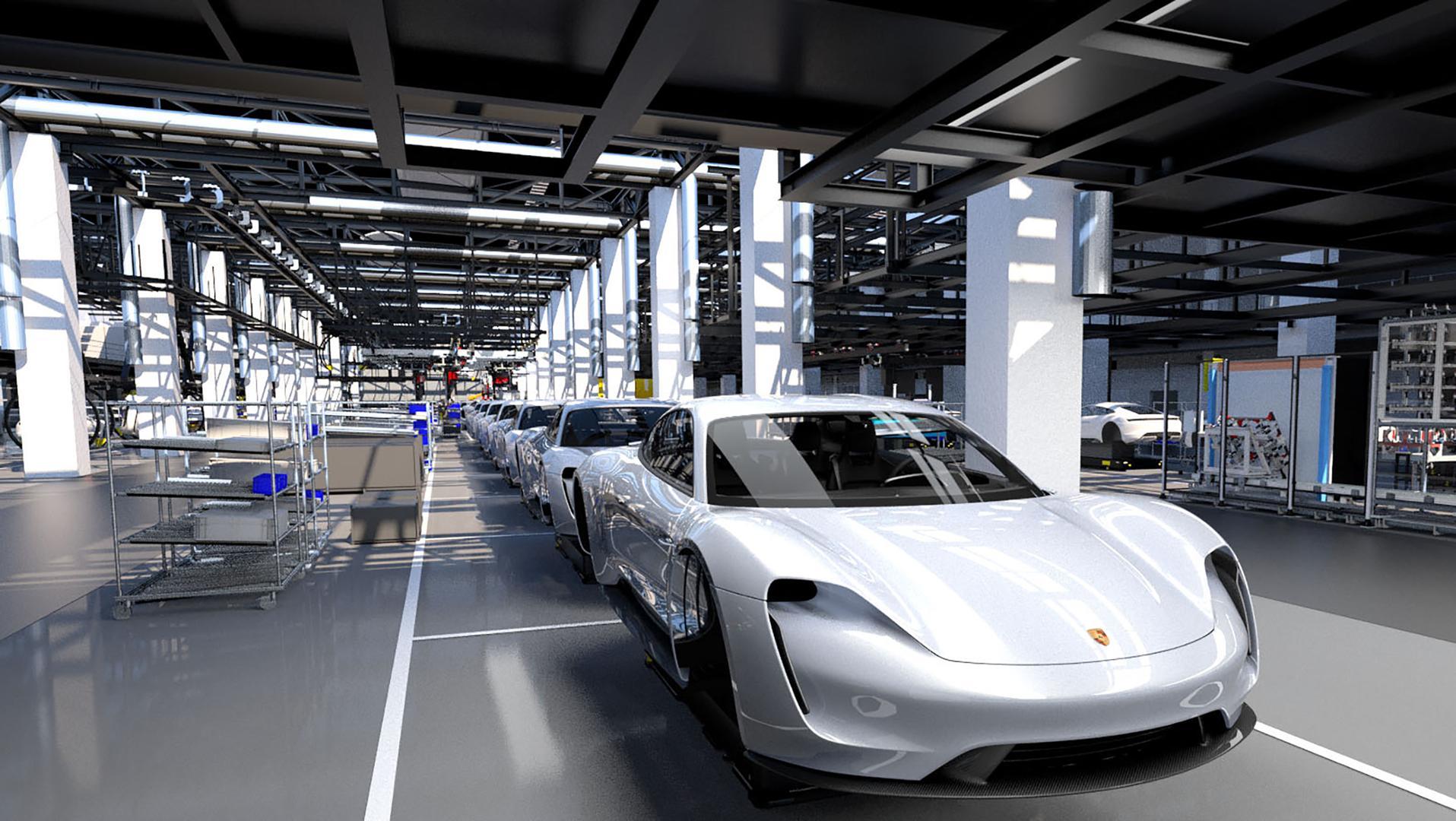 Porsche Definitively Enters the Electric Era