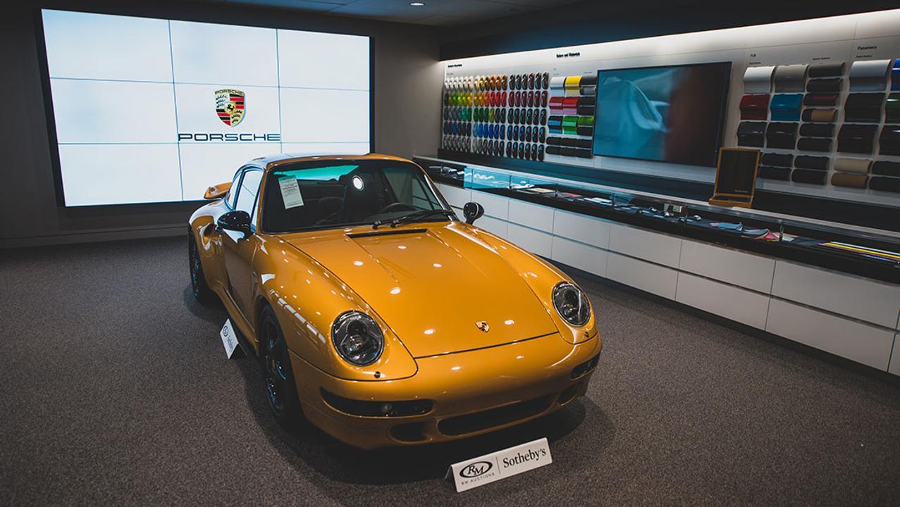 """Porsche Classic's """"Project Gold"""""""