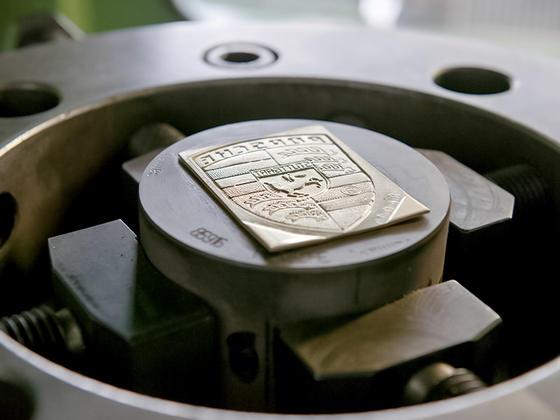 The Original Porsche Crest as a Quality Seal